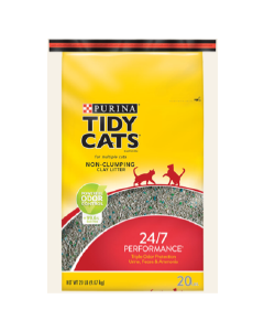 20# Tidy Cats Non-Clumping Clay Cat Litter