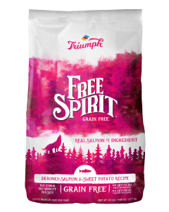 14# Triumph Grain Free Salmon & Sweet Potato Dog Food