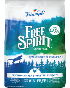 3# Triumph Grain Free Chicken Pea & Vegetable Cat Food