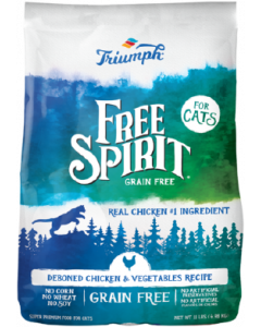 11# Triumph Grain Free Chicken & Vegetable Cat Food
