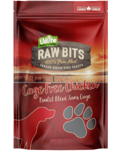 Small Bag Ubite Raw Bits Dog Treats Chicken Breast
