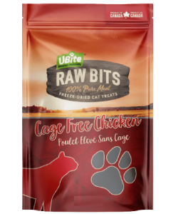 Small Bag Ubite Raw Bits Cat Treats Chicken Breast