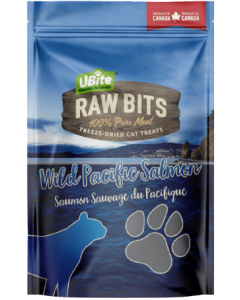 Small Bag Ubite Raw Bits Cat Treats Salmon Fillet