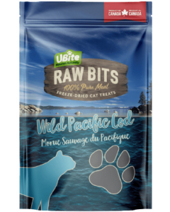 Medium Bag Ubite Raw Bits Cat Treats Cod