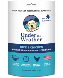 6oz. Under the Weather Chicken & Rice with Electrolytes