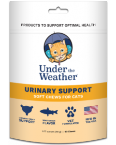 30 Count Under the Weather Urinary Support Cat Chews