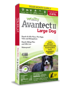 Vetality Avantect II Large Dog 21-55 lbs 4 Pack