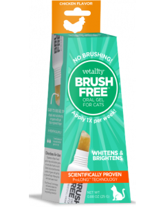 Vetality Brush-Free Oral Gel for Cats