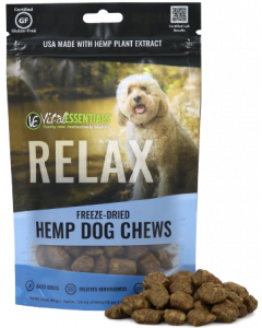 Vital Essentials Freeze Dried Hemp Chews Relax 3oz