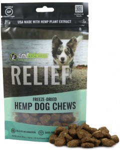 Vital Essentials Freeze Dried Hemp Chews Relief 3oz
