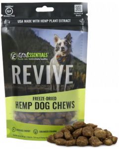 Vital Essentials Freeze Dried Hemp Chews Revive 3oz