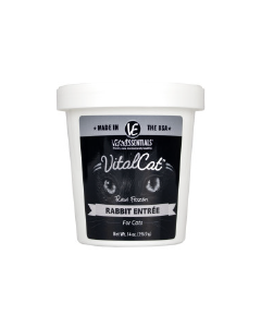 Vital Essentials Tub Vital Frozen Cat Food Rabbit 14oz