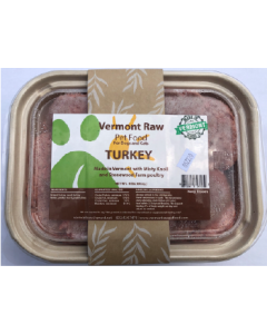 4# Vermont Raw Turkey Dog Food