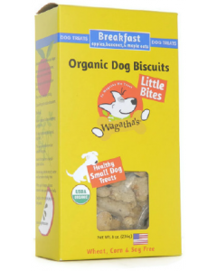 Wagatha's Little Bites Breakfast Dog Biscuits Dog Treat 8oz