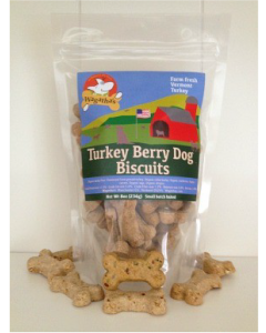 Wagatha's Turkey Cranberry Dog Biscuits Dog Treat 8oz