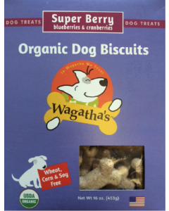 Wagatha's Super Berry Dog Biscuits Dog Treat 16oz