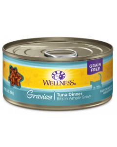 Wellness Gravies Tuna Cat Food 5.5oz
