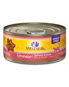 Wellness Gravies Salmon Cat Food 5.5oz
