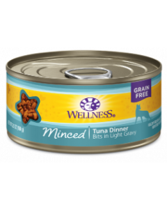 5.5oz. Wellness Minced Tuna Dinner Cat Can