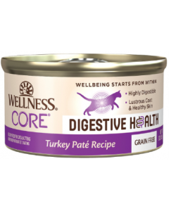 Wellness Core Digestive Health Turkey Pate Cat 3oz