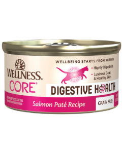 Wellness Core Digestive Health Salmon Pate Cat 3oz
