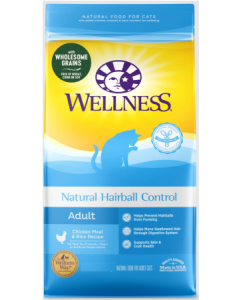 Wellness Natural Hairball Cat 5lb