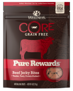 Core Beef Jerky Dog Treat 4oz