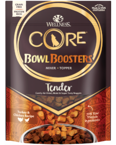 Wellness Dog Food Bowl Booster Tender Turkey & Chicken 8oz