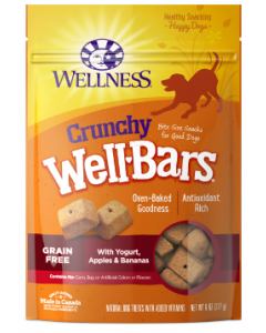 Wellbar Apple Banana Yogurt Dog Treat 20oz