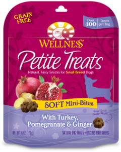 Wellness PT Soft Turkey Pomegrante Ginger Dog Treat 6oz
