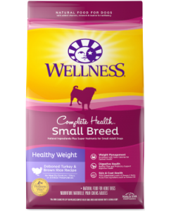 Wellness Complete Health Small Breed Weight Management Dog Food 12lb