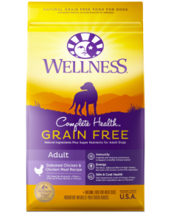 Wellness Complete Health GF Chicken Dog Food 24lb