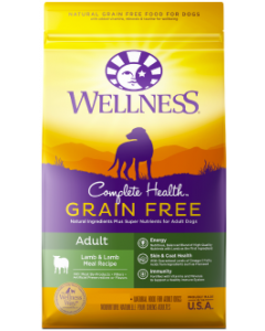 Wellness Complete Health GF Lamb Dog Food 24lb