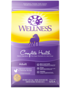 Wellness Complete Health Chicken Dog Food 5lb