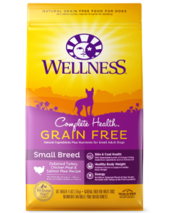 Wellness Complete Health GF Small Breed Adult Dog Food 4lb