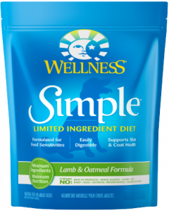 Wellness Simple Lamb Dog Food 26lb