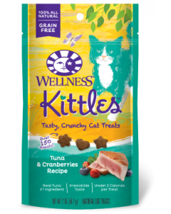 Wellness Kittles Tuna & Cranberry Cat Treat 2oz