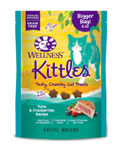 Wellness Kittles Tuna & Cranberries Cat Treats 6oz