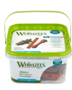Whimzees 56 Pack Small Variety Box