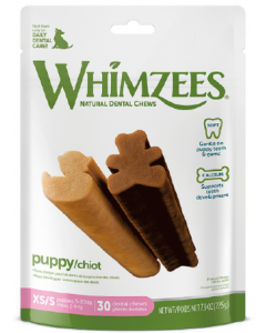 7.9oz Whimzeez Extra Small - Small Puppy Dental Chew