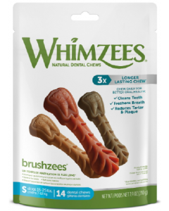 7.4oz Whimzeez Small Toothbrush Dental Chew