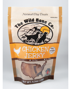 The Wild Bone Co Jerky Chicken 4.5oz