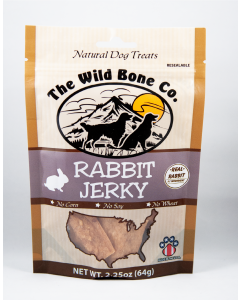The Wild Bone Co Jerky Rabit 2.5oz