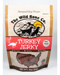 The Wild Bone Co Jerky Turkey 3oz