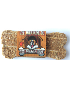 The Wild Bone Compay Rabbit Bone Stew Biscuit Dog Treat 1oz
