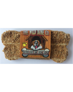The Wild Bone Compay Venison Bone Pot Roast Biscuit Dog Treat 1oz