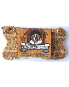 The Wild Bone Compay Bison Bone Prairie Biscuit Dog Treat 1oz