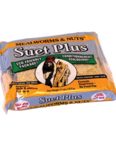 11oz Meal Worm & Nuts Suet