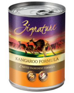 Zignature Kangaroo Dog Food Canned 13oz