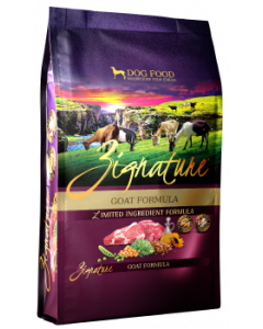 Zignature Goat Dog Food 27lb